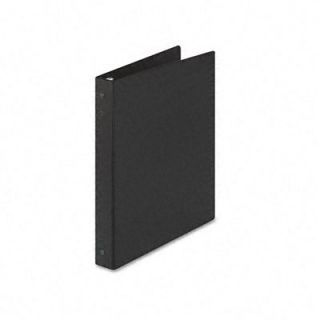 Avery Economy Round Ring Reference 3 Ring Binder, 1 Capacity, Black