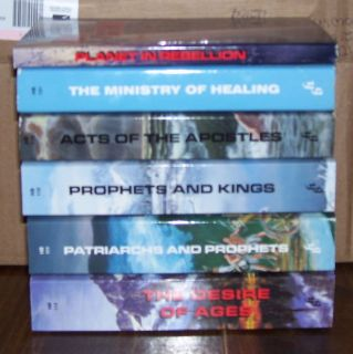 Conflict Of The Ages Book Set   Ellen G White Book Lot   SDA