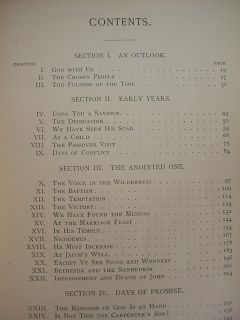 Ellen E G White Desire of Ages 1898 Illustrated 1st Ed Pacific Press