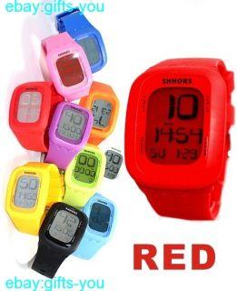 Alarm Backlight Boy Girl Elegant Touch Digital Watch DW410A
