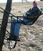 Deer Hunter Tree Stand Model 777 Reclining Climber Tree Stand