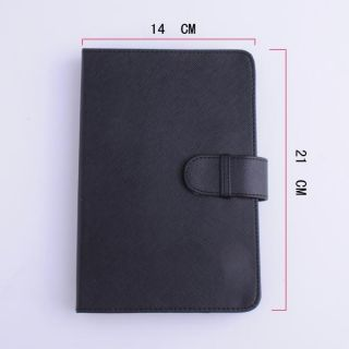 Faux leather Bag Case Cover for 7 Ebook Reader Android Tablet PC Mid