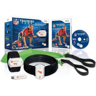 Ea Sports Active NFL Training Camp Nintendo Wii Sports Game Bundle New