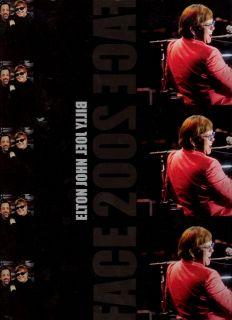 ELTON JOHN & BILLY JOEL FACE 2002 FACE TOUR CONCERT PROGRAM BOOK