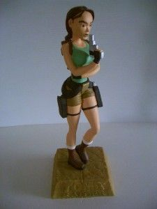 Lara Croft Tomb Raider 1997 Core Eidos Statue Original Lara Croft Look