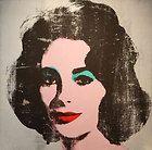 Andy Warhol Original Lithograph Liz II 7 HANDSIGNED