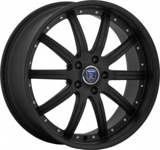 19 Rohana Staggered Wheels 5x114 3 Machine Face Rim Fits Ford Mustang