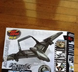 Air Hogs R C Hawk eye Blue Sky Remote Control Airplane With Built In
