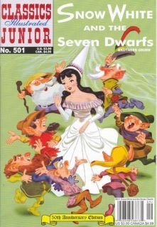 Classics Illustrated Jr 601 Snow White Treasure Pack