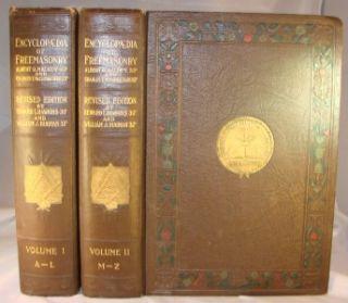Encyclopedia Freemasonry 1924 Masonic Mason Templar NF