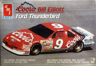 AMT 9 Bill Elliott Coors Ford Thunderbird 1990