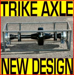Trike Axle Conversion Kit Rear End Harley Chopper Chain
