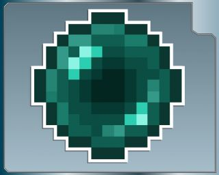 Minecraft Ender Pearl 6 Vinyl Decal Car Truck Laptop iPhone Sticker