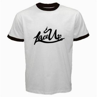New Lace Up MGK Machine Gun Kelly Cleveland Ringer T Shirt Size s 2XL