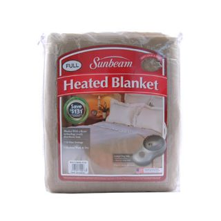 Sunbeam Royal Nights Electric Heated Warming Blanket