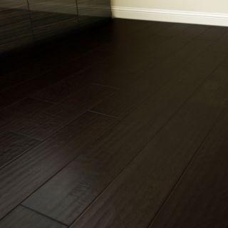 Hickory Dark Engineered Hardwood Floor Wide Wood Flooring