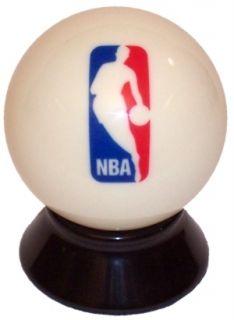 NBA Basketball Logo Pool Billiard Cue 8 Ball New