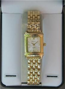 Elegant Embassy by Gruen Ladies Quartz Wrist Watch in Gold