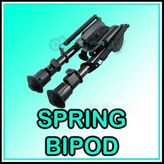 Tactical Rifle Spring Eject Rest 6 9 Metal Bipod