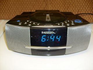 Emerson Research SMART SET CD player/ Radio/ DUAL ALARM clock/ Model