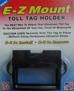 EZ Pass Toll Tag Holder 4 Colors Wholesale Hot Seller