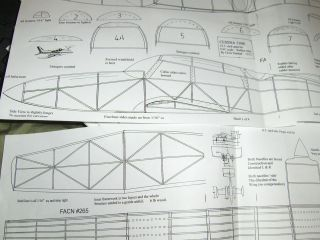 CESSNA TWIN 310R, RC ELECTRIC/FF BALSA model airplane plans.