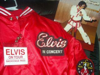 Elvis Presley Concert Tour Jacket Size Extra Large