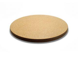 Epicurean 18 Round Block Cutting Board 1 Thick