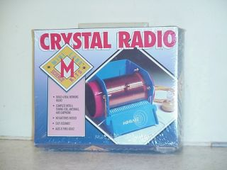 VINTAGE CRYSTAL RADIO KIT UNOPENED IN ORIGINAL BOX EDUCATIONAL