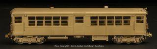 BRASS MTS CTA 4001 4250 ELEVATED BALDY 2 CAR SET POWERED NEW