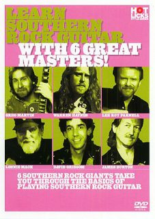 Sale Learn Southern Rock Guitar 6 Masters Hot Licks DVD