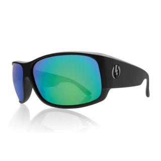 New Electric Module Sunglasses   Matte Black Frame / Grey Green Chrome