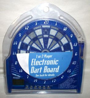 Halex Electronic Dart Board for 1 or 2 Players NIB