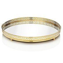 richard mishaan round brass mirror tray d 00010101000000~172574
