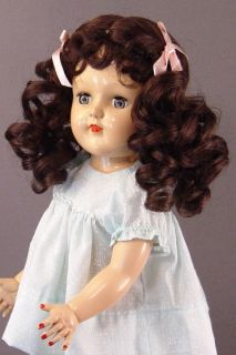 Doll Wigs Size 7 8 Beautiful Erika Wigs Brown Deep CLOSEOUT Special