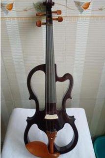 Handmade Wood Body Electric Violin Musical Instrument 4 4 Violin Bow