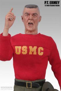 Lee Ermey P T Gear Sideshow 12 Figure USMC Excl