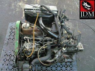 VOLKSWAGEN VW GOLF MKI DIESEL 1 5D ENGINE AND MANUAL TRANSMISSION