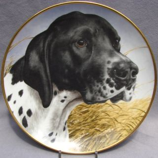 Kaiser Bird Dog Plate English Pointer by John Francis