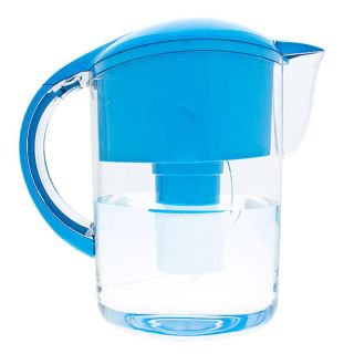 Code Blue Water Filter Pitcher w 4 Filters and Electronic Fill Counter