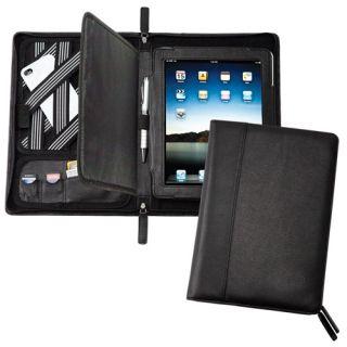 New GOODHOPE Multi Purpose Leather iPad Organizer Padfolio