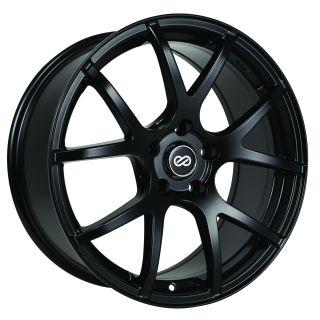 Enkei M52 Matte Black 16x7 5x100 38 Performance Wheel Rim