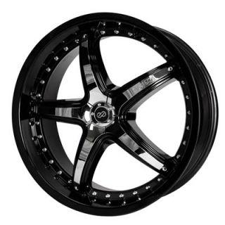 Enkei LS 5 Black Wheel 18x7 5 5x110mm Set of 2