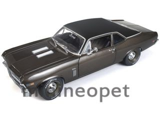 Ertl American Muscle AMM966 1969 Chevrolet Nova 396 1 18 Burnished