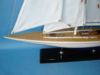 Enterprise Limited 27 Model Sailboat Authentic Model