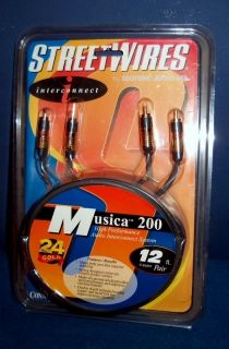 Esoteric Audio USA Wires Musica 200 24 Karat Gold Plated 12 Pair No