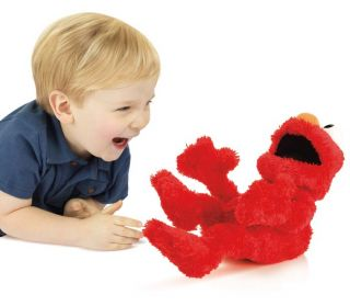 Street Laugh Out Loud LOL Elmo Stuffed Animal Tickle Silly