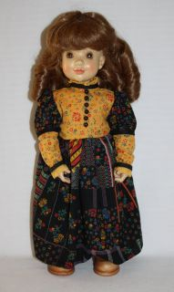 Elizabeth Doll Anri Sarah Kay Wood Limited Edition 1000 Italy Le