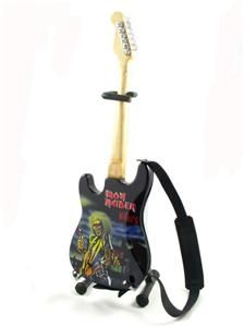 Miniature Guitar Iron Maiden Killers Strap