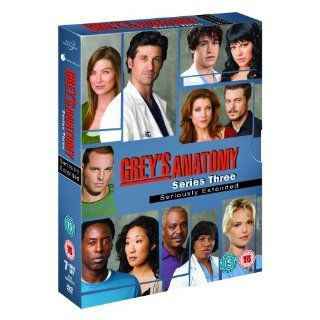Greys Anatomy The Complete Season Series 3 7 Disc DVD Box Set